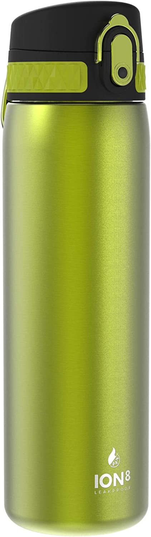 500ml Ion8 Botella Agua Acero Inoxidable Termica Sin Fugas