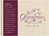 Grandma: Her Stories. Her Words