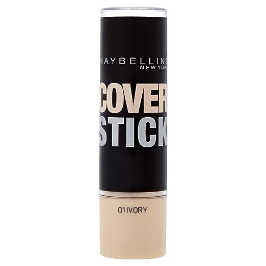 3 opinioni per Maybelline Cover Stick, Correttore, Ivory 01, 5 ml