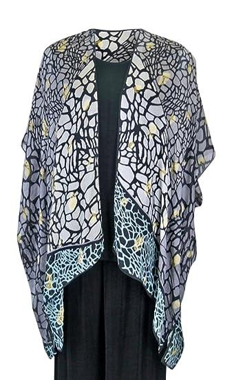 84460c69150 Women s Butterfly Wing Silk Long Kimono Jacket Oversized One Size ...