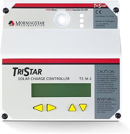 Morningstar TS-M-2 TriStar Digital Meter LCD RJ-11 Connectors