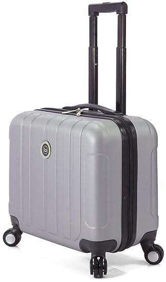 Maleta ABS para 16 Inch ordenador equipaje de mano con ruedas: Amazon.es: Equipaje