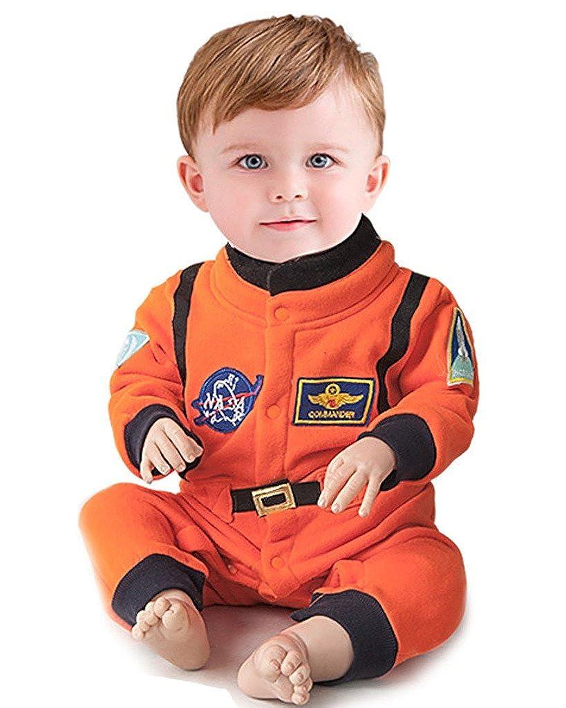 Minetom Kinder Jungen Lange /Ärmel Spielanzug Strampler Baby Overalls Mode Raum Anzug