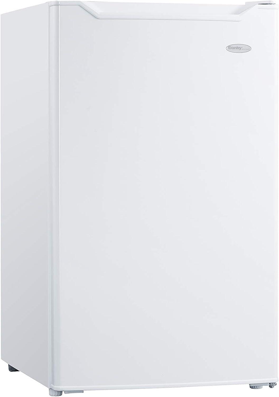 Danby DCR044B1WM-6 Whtie 4.4 cu. ft Compact Refrigerator, White