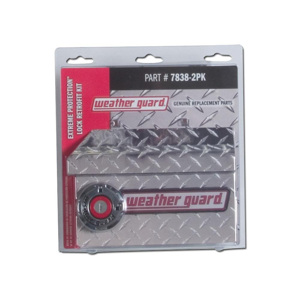 WEATHER GUARD Kit Retro-Fit Lock 2 Pack