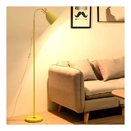 Amazon.com: Floor Light LED Dimmable Floor Lamp Nordic Elk ...