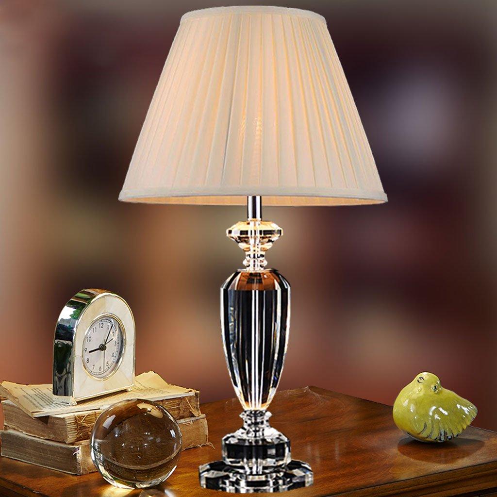LOVELY Lampade da tavolo in cristallo di lusso classico Lampada da tavolo Lampade da tavolo da letto da letto Lampade da tavolo da lettura lampade da tavolo da lettura Lampade dimming ( Color : Dimmer switch )