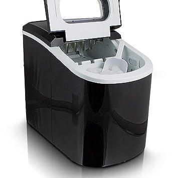 Haushaltsgeräte Kleingeräte Küche Eismaschine Eiswürfelmaschine Icemaker Ice Cube Maker Eiswürfelbereiter Schwarz