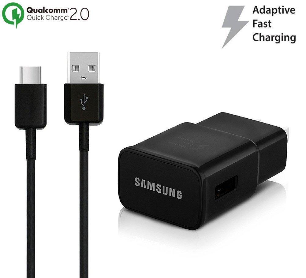 Amazon.com: OEM adaptativa Cargador rápido para Samsung ...
