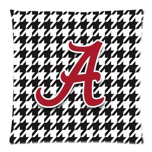 Custom Pillowcase Alabama Crimson Tide 18*18 inches Cushion Case (Alabama Throw Pillow)