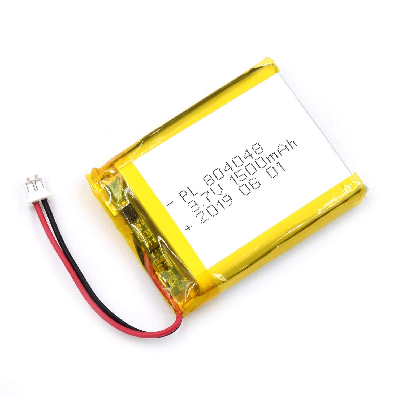 Bateria Lipo 3.7V 1500mAh 804048 Recargable JST Conector
