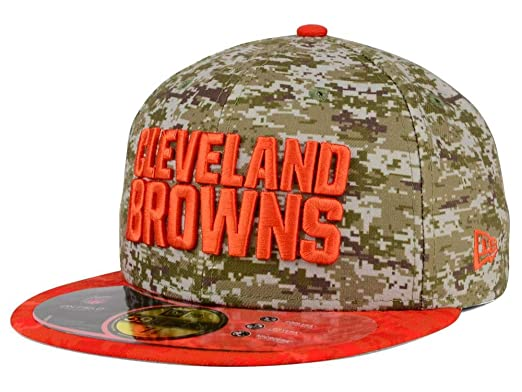 ... ireland cleveland browns new nfl salute to service 59fifty fitted hat  cap 7 1 8 38 f2800a15d