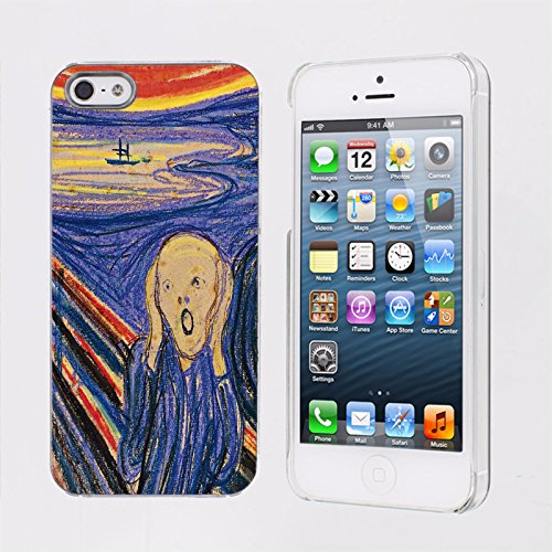 Mobiflare, Slim Clip-on Phone Case, for [iPhone 5/5S] - Scream (Cup Ukraine World)