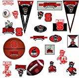 RoomMates RMK1264SCS North Carolina State University Peel & Stick Wall Decals