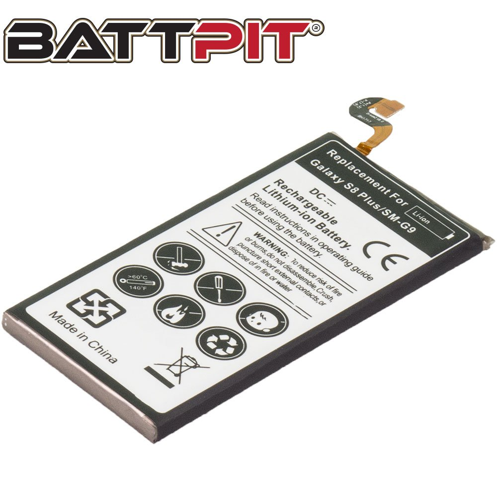 Battpit® New Cell/Smart Phone Battery Replacement for Samsung Galaxy S8 Plus TD-LTE (3800mAh/14.6wh) (Ship from Canada) Battpit® 69605318882411