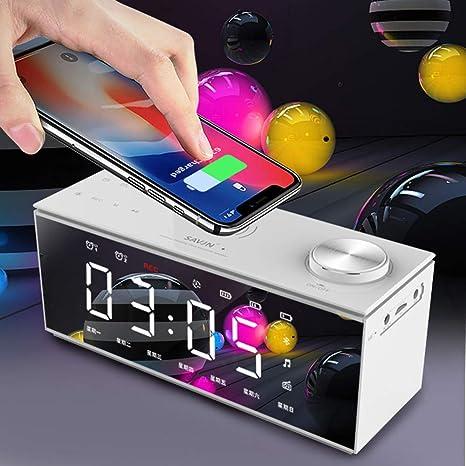 MSG ZY Cargador inalámbrico para teléfono móvil, Altavoz ...