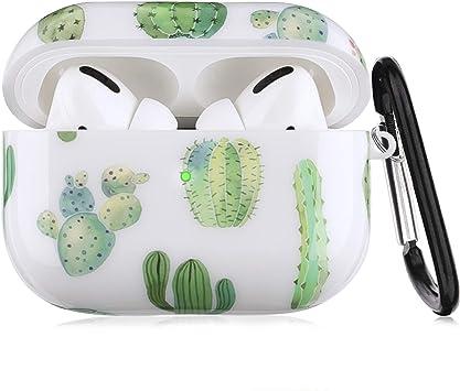Amazon Com Airpods Pro Case Litodream Cactus Cases For Apple