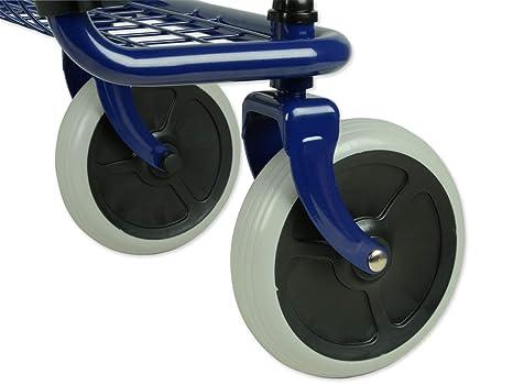 Gima 43142 andador de paseo de 4 ruedas, 12.5 kg peso, 100 kg ...