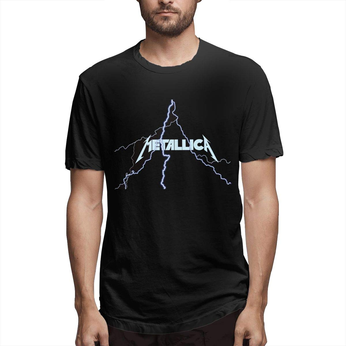 Lixua Metallica S Tshirts Tops Oneck T
