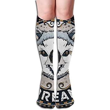 Calcetines Altos Koala Design Elastic Blend Long Socks Compression Knee High Socks (65cm) For Sports: Amazon.es: Deportes y aire libre