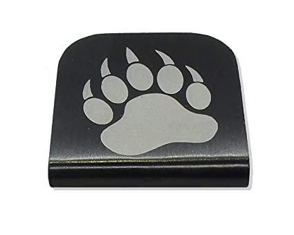 e05eaebcaef4 Morale Tags Bear Paw for Your Hat! Clips Right On!