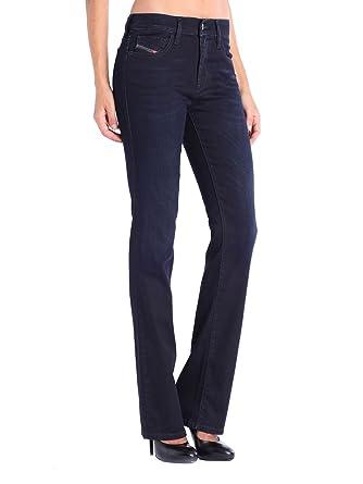 8669f2a2 Diesel Bootzee-St 0608Y Regular Slim Bootcut Women's Jeans Trousers:  Amazon.co.uk: Clothing