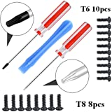 ZYL Install Open Shell Tool Torx T8H T6 Screwdriver for Xbox 360 Xbox ONE Controller