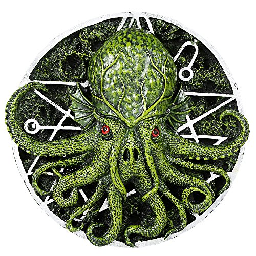 Cthulhu Round Wall Plaque Designed by Oberon Zell 5.75 Inches Diameter