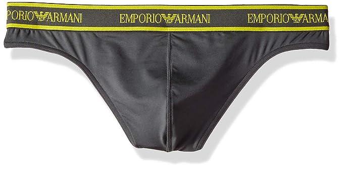 a25e98dfaa04 Emporio Armani Men's Essential Microfiber Thong at Amazon Men's ...