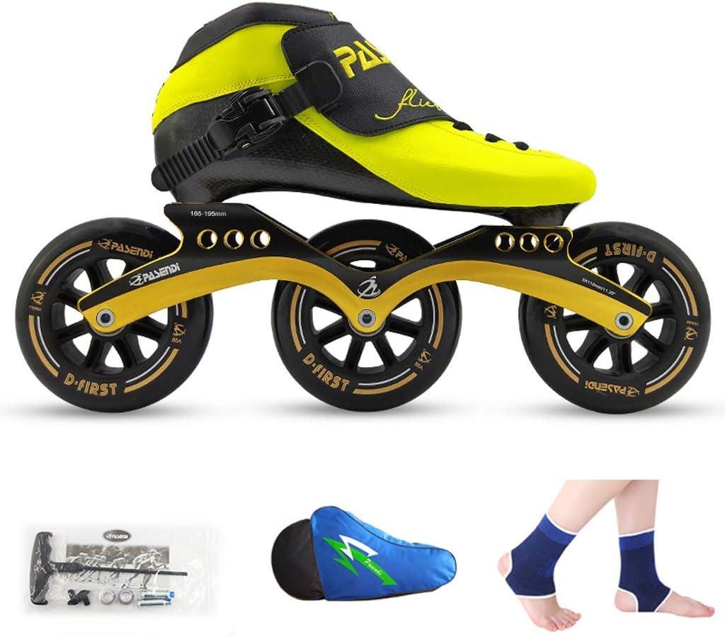Speed-Skates professionelle Eisschuhe f/ür Kinder Inline-Eisschuhe f/ür M/änner und Frauen Laufschuhe QSs-Ⓡ Rollschuhe