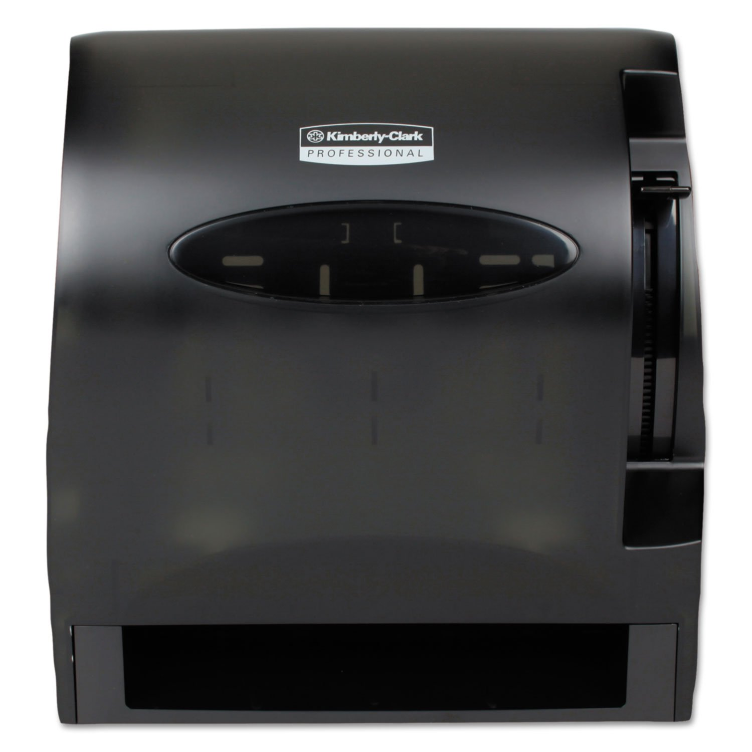 KCC09765 - In-sight Lev-r-matic Roll Towel Dispenser, 13 3/10x9 4/5x13 1/2, Smoke by Kimberly-Clark