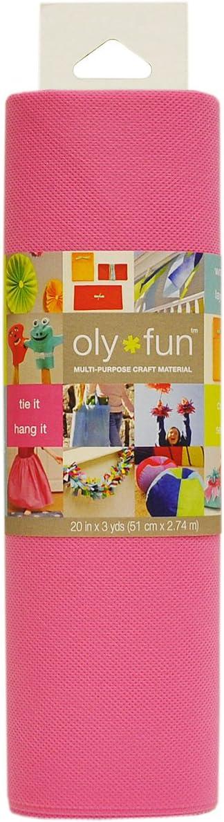 3-Yard Snow White Fairfield OLY Fun Multi-Purpose 20-Inch Craft Material