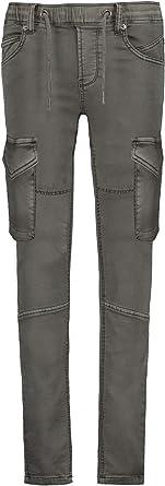Garcia Jungen Cargohose dunkelgrau Gr 128-176 regular waist tapered leg