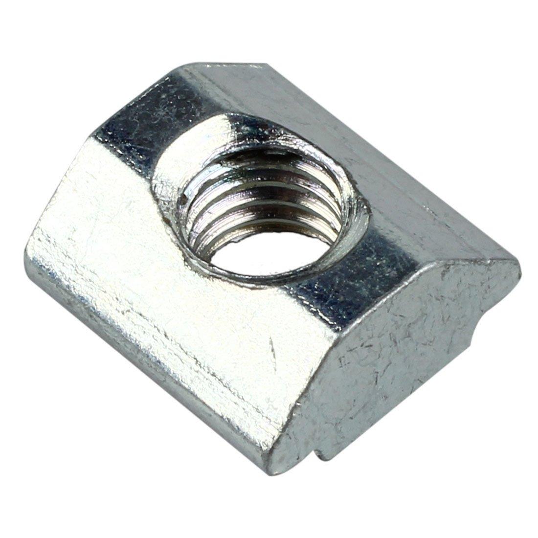 T-Mutter - TOOGOO(R) 10 Stueck T-Nut-Aluminium Extrusion 20 Serie M5 Hardware Einschub-T-Mutter