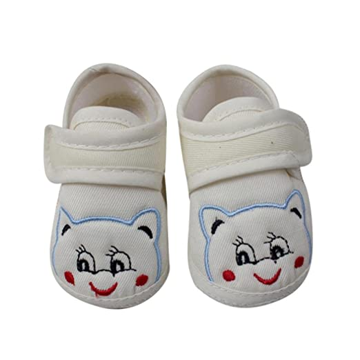 ee024682253c4 Amazon.com: Baby Walking Shoes for 0-18 Months, Newborn Infant Boys ...
