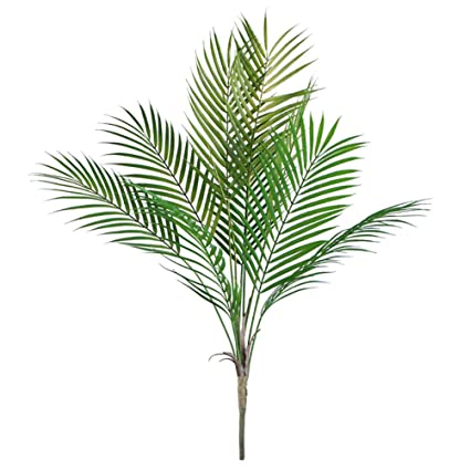 Amazon 346 Artificial Palm Leaves Tropical Greenery Imitation