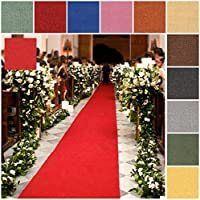 Custom Size GREY Rubber Backed Wedding Event Hallway Entry Aisle Stair Runner Rug Carpet 22in X 13ft