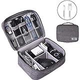 Electronics Organizer, OrgaWise Electronic Accessories Bag Travel Cable Organizer Three-Layer for iPad Mini, Kindle, Hard Dri