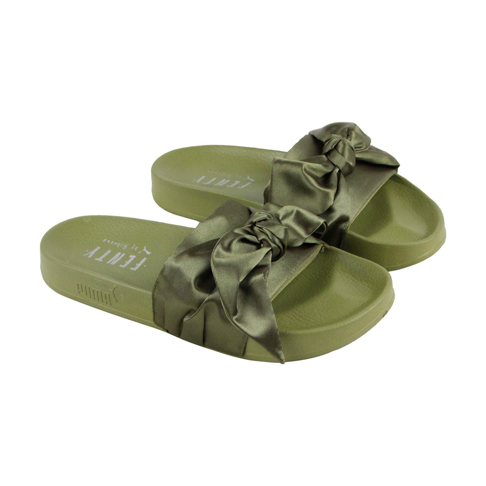 brand new 82fae b7485 Puma Rihanna Fenty Bow Slide WNS
