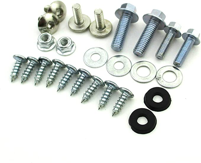 Plastic Fairing Tank Mount Screw Panel Bolts Compatible With 50cc-160cc CRF50 Dirt Pit Bike NBX- XH6011-BOLT-Raw