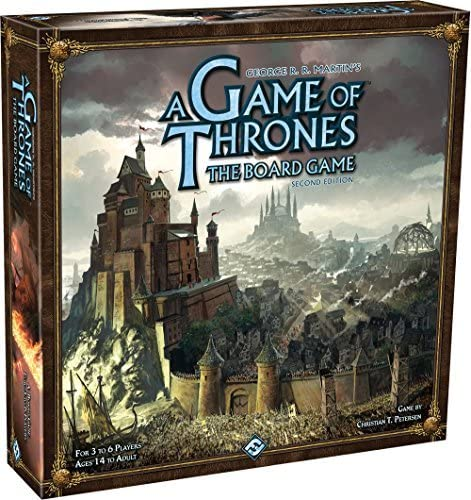 A Game of Thrones Boardgame Second Edition by Fantasy Flight Games