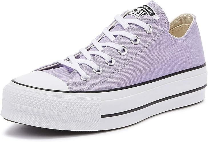 Converse Sneaker Chuck Taylor All Star flieder weiß