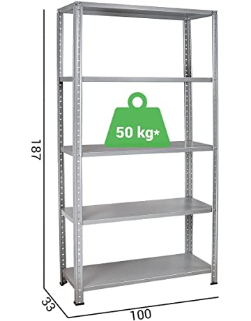 Metro Scaffali Metallici.Scaffalature Amazon It