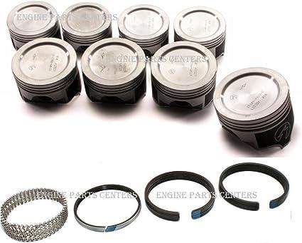 .040 5//64 5//64 3//16 4.165 BORE Oldsmobile 455 HASTINGS Moly Piston Rings
