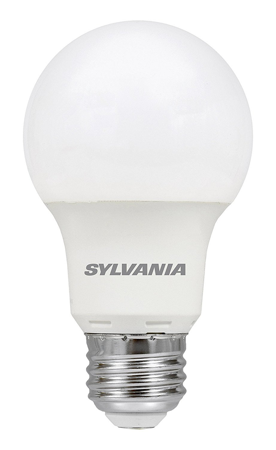 SYLVANIA, 40W Equivalent, LED Light Bulb, A19 Lamp, 2 Pack, Daylight, Energy Saving & Longer Life, Value Line, Medium Base, Efficient 6W, 5000K