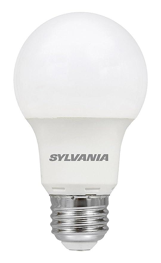 Sylvania – Bombilla, equivalente a 40 W, luz led, lámpara A19, 1