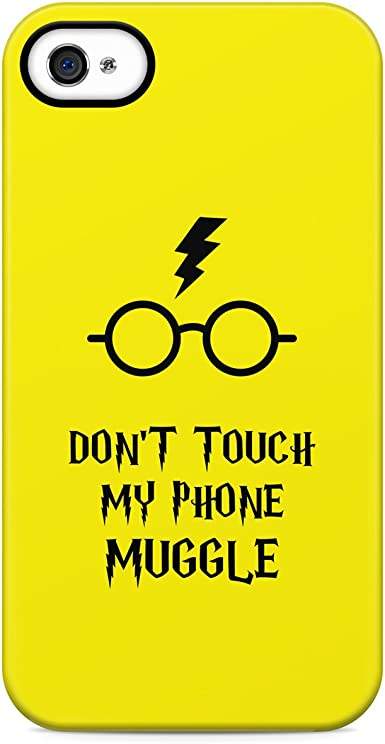 Harry Potter Dont Touch My Phone Muggle Hard Plastic Phone Case ...