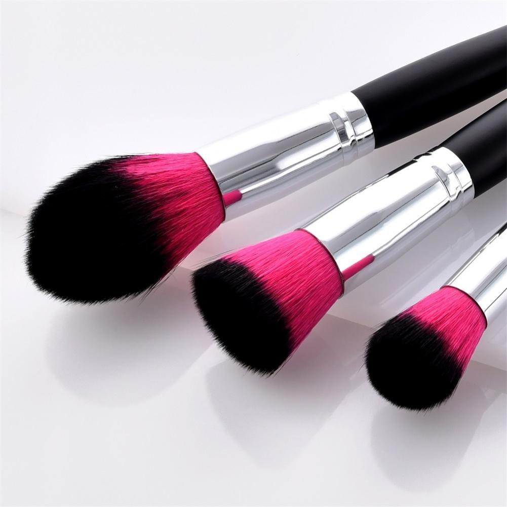 3f02c13cf72c Amazon.com : Premium Makeup Brush Set Huphoon 13PCS Wood Handle ...
