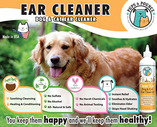 Natural Dog Ear Cleaner For Dogs Amp Cats Dog Ear Infection