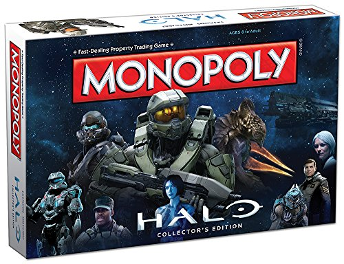 USAopoly MONOPOLY: Halo Collector's Edition Board Game